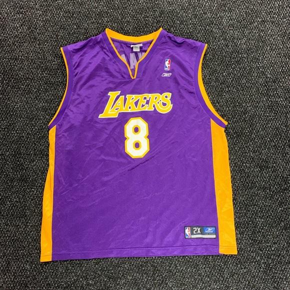 Reebok LA Lakers Kobe Bryant Away Jersey 2XL